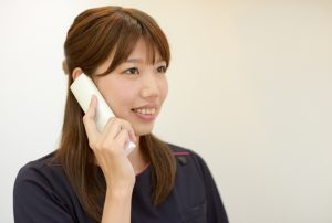交通事故治療をご希望の方はお電話ください。